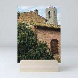 Rooftops of San Gimignano Mini Art Print