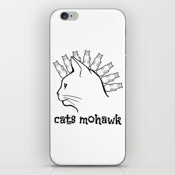 Cats Mohawk iPhone Skin