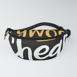 Make Plywood Cheap Again Fanny Pack