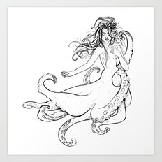 Seawitch Art Print