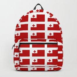 Flag of Tonga -Tonga,Tongatapu,Nukuʻalofa,Tongan,pa'anga,Vava'u, Ha'apai, Tongatapu. Backpack