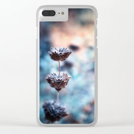 Stages of Beauty Clear iPhone Case
