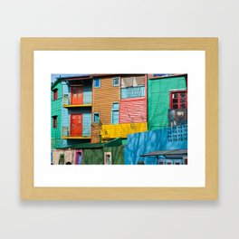 El Caminito Framed Art Print