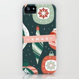 Xmas Ornaments iPhone Case