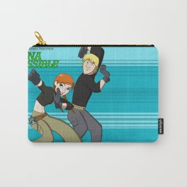 Anna and Kristoff as Kim Possible and Ron Stoppable Carry-All Pouch