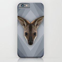 Krazy Kangaroo  iPhone Case
