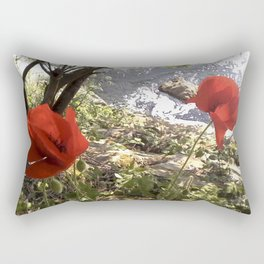 Poppy Time Rectangular Pillow