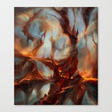 Bloodstained Mire Canvas Print