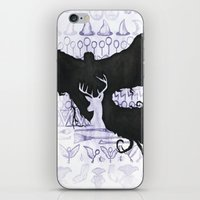 harry potter iPhone & iPod Skins featuring Harry Potter by Carmen McCormick