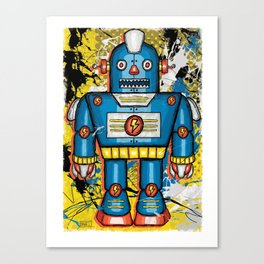 Thunderbot  Canvas Print