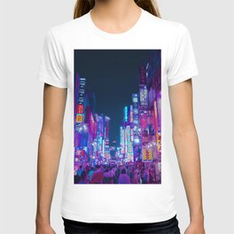 Neon Streets - Neon Tokyo Series T-shirt