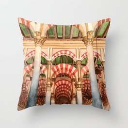 Mezquita de Cordoba - Spain Throw Pillow