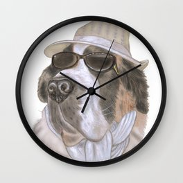 Cool Barney Wall Clock