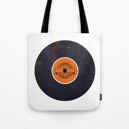 Vinyl Record Art & Design | World Post Tote Bag