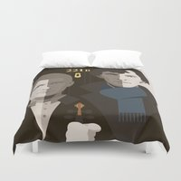 gothic Duvet Covers featuring British Gothic by Danny Haas
