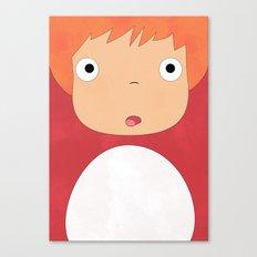 Studio Ghibli - Ponyo Canvas Print