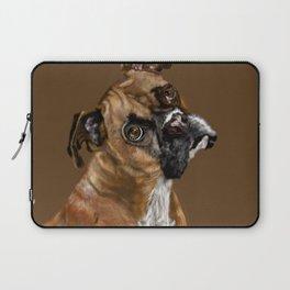 Boxer Portrait Laptop Sleeve