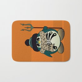 Harold The Penguin.Halloween character Bath Mat