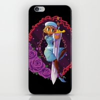 sword iPhone & iPod Skins featuring Sword by S.A.