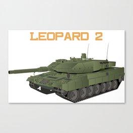 German Tank Leopard 2 Canvas Print