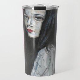 Innocent Chinese Girl Travel Mug