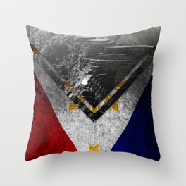 Flags - Philippines Throw Pillow