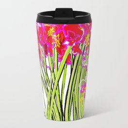 Red Flowers again, Hybiscus Travel Mug
