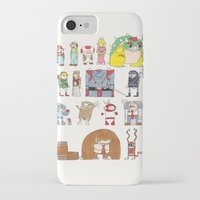 nintendo iPhone & iPod Cases featuring Nintendo Characters by Hamburger Hands