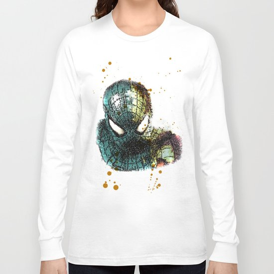UNREAL PARTY 2012 THE AMAZING SPIDEY SPIDERMAN Long Sleeve T-shirt
