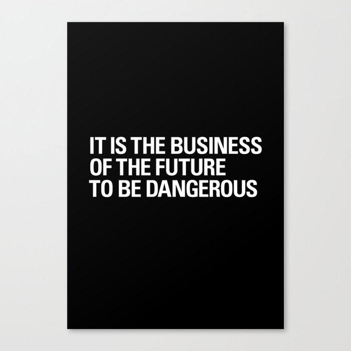 FUTURE BUSINESS Canvas Print