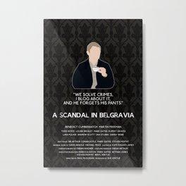 A Scandal in Belgravia - John Watson Metal Print