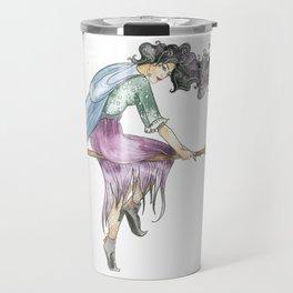 Beautiful Witch Travel Mug