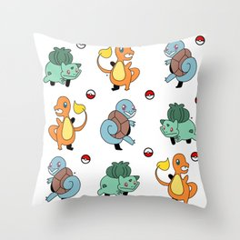 Classic Starters Throw Pillow