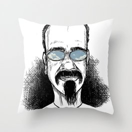 CLOUDS IN MY EYES Throw Pillow