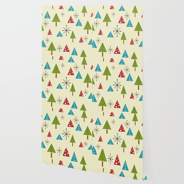 Mid Century Modern Christmas Tree.Mid Century Modern Christmas Trees Wallpaper