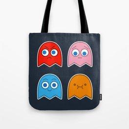 Pac Man's Ghosts Tote Bag