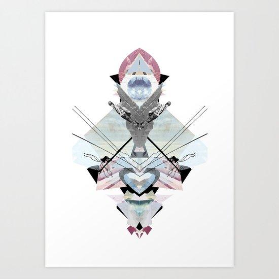 Kaleidoscope Collage #01 Art Print