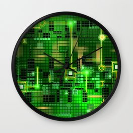 Internal circus Wall Clock
