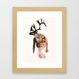 Tough Moose Framed Art Print