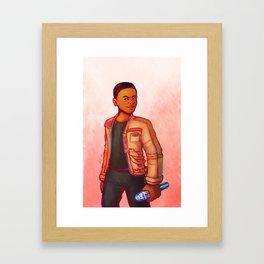 Nice Jacket Framed Art Print