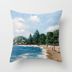 Mission Bay Throw Pillow