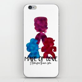 Made of Love iPhone Skin