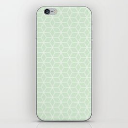 Hive Mind Light Green #395 iPhone Skin