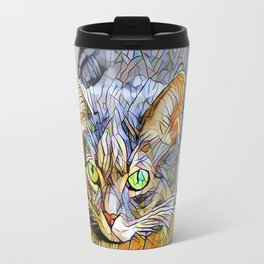 The TABBY II from our FUNK YOUR FELINE line Travel Mug