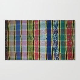 Handmade weave Canvas Print