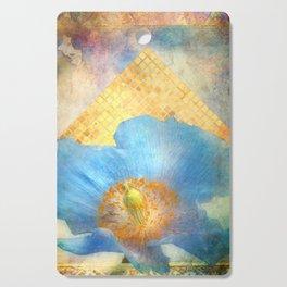 Sky Poppy Cutting Board
