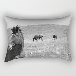 Flowing Mane Vogue Rectangular Pillow
