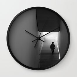 interstitial space Wall Clock