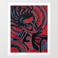 Haysoos Art Print