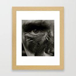 Mine Shaft Miss Framed Art Print